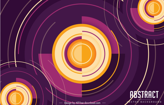 technology background abstract modern circles slices layout