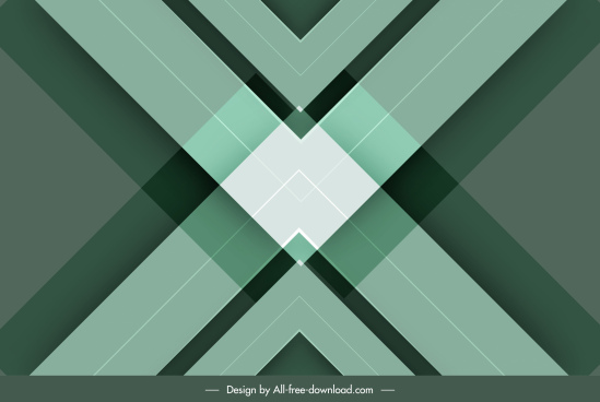 technology background abstract symmetrical geometric decor