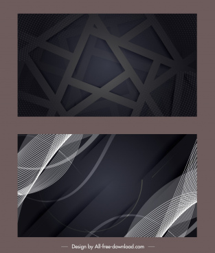 technology background modern abstract dark design