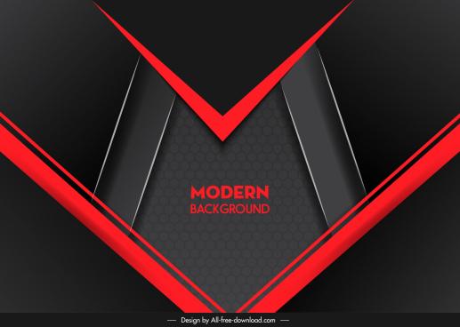 technology background modern abstract dark elegant black red