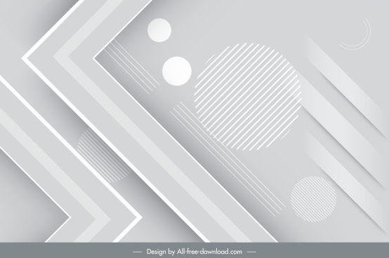 technology background modern bright grey geometric decor