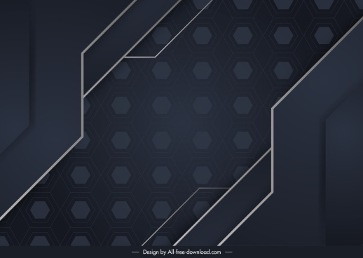 technology background modern dark flat symmetric decor