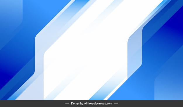 technology background modern flat blue white decor