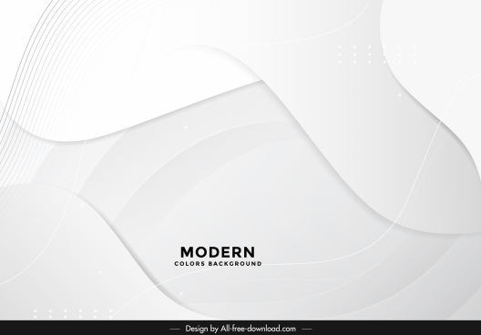 technology background template bright dynamic curves shape