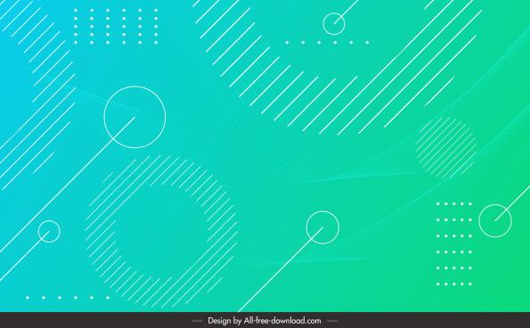 technology background template bright geometric layout flat modern