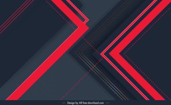 technology background template modern elegant dark geometric decor