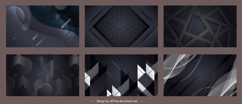 technology background templates abstract dynamic dark design