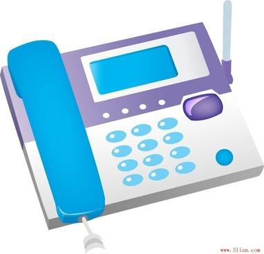 technology communications phone vector