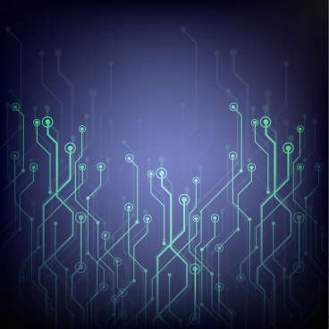 technology concept background blue backdrop dots combination ornament