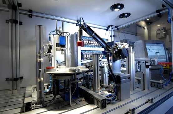 technology industry machine