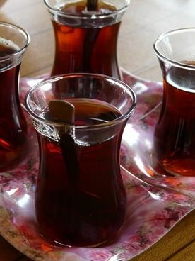 tee turkish tea drink