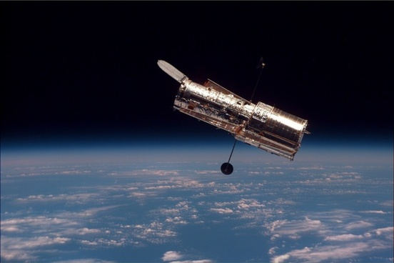 telescope space telescope hubble weltraumteleskop