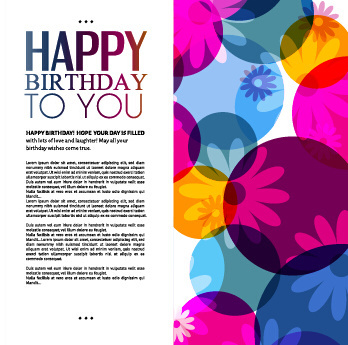 Love Birthday Greeting Cards Free Vector Download 16946 Free