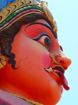 temple figure temple colorful