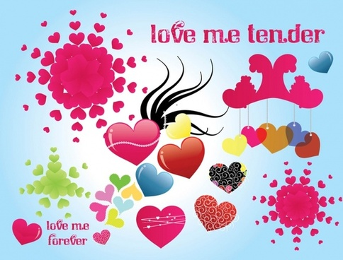 Tender Love Vector Graphics