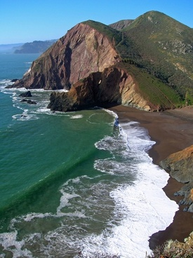 tennessee cove california sea