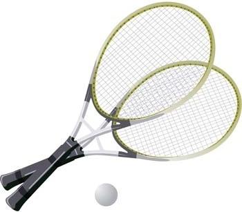 tennis sport vector 8