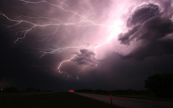 texas lightning storm
