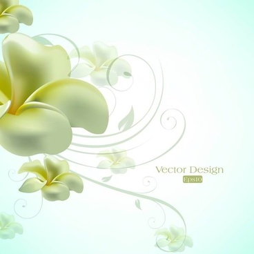 text elegant lily design background vector