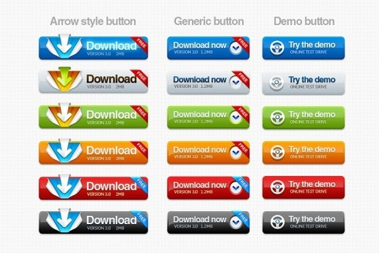 texture button psd layered