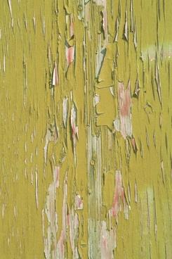 texture green peeling paint