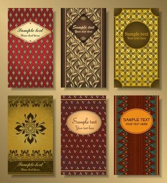 card cover templates luxury elegant classical design