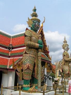 thailand temple monuments