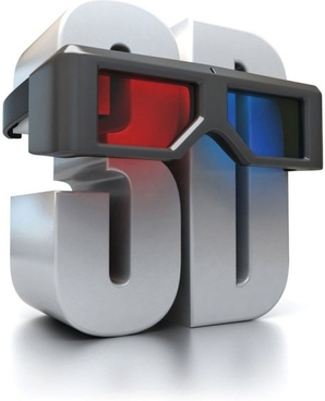 the 3d font with red and blue glasses hd pictures