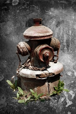 the antiquated fire hydrant psd