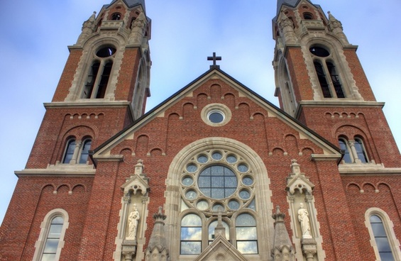the basilica at holy hill wisconsin