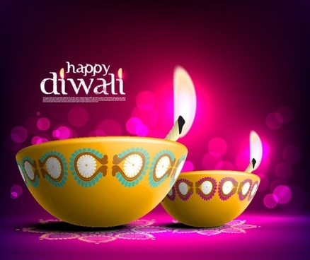 Diwali greetings free vector download 3861 free vector for the beautiful diwali card 08 vector m4hsunfo