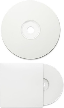 the blank cd packaging psd layered