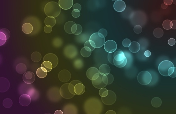 the bokeh spot psd layered