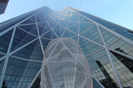 the bow building downtown calgary