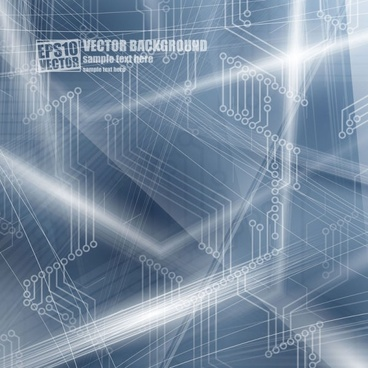 the brilliant dynamic flow line background 02 vector