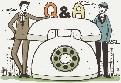 the business phone illustrator vector