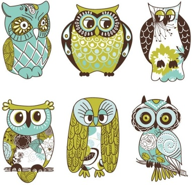 the cartoon owl illustrator vector