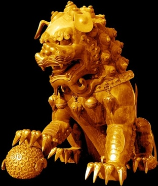 the copper gilt lions psd