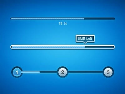 the delicate progress bar 01 psd layered