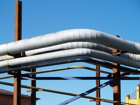 the design of the metal tube