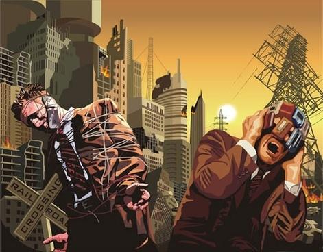 the doomsday urban vector