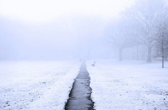 the english winter fog
