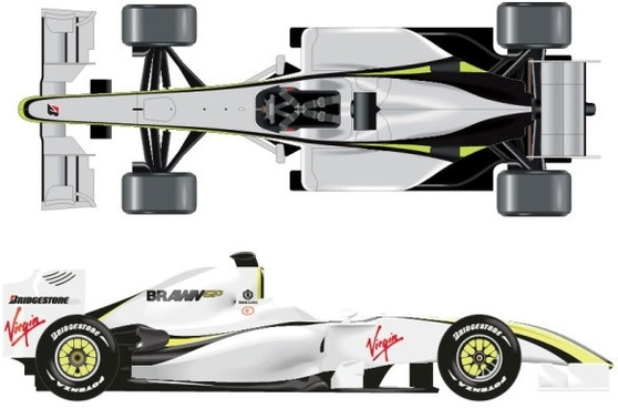 the f1 dissect figure vector
