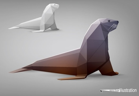 the facades body animal models 02 vector