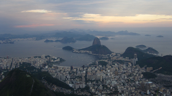 the famous view over rio de janeiro