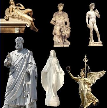 the figure sculpture psd layered