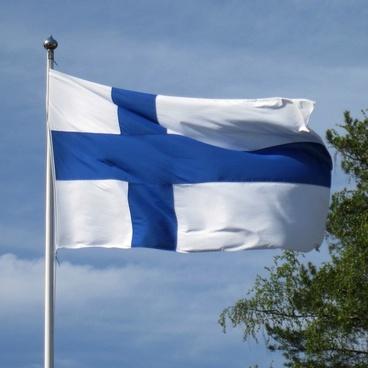 the finnish flag blue cross flag finland