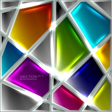 the glass texture creative design 01 vector