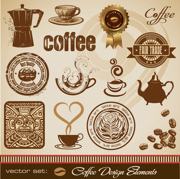 the gold medal coffee style design vector