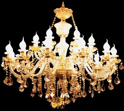 the gorgeous european chandeliers